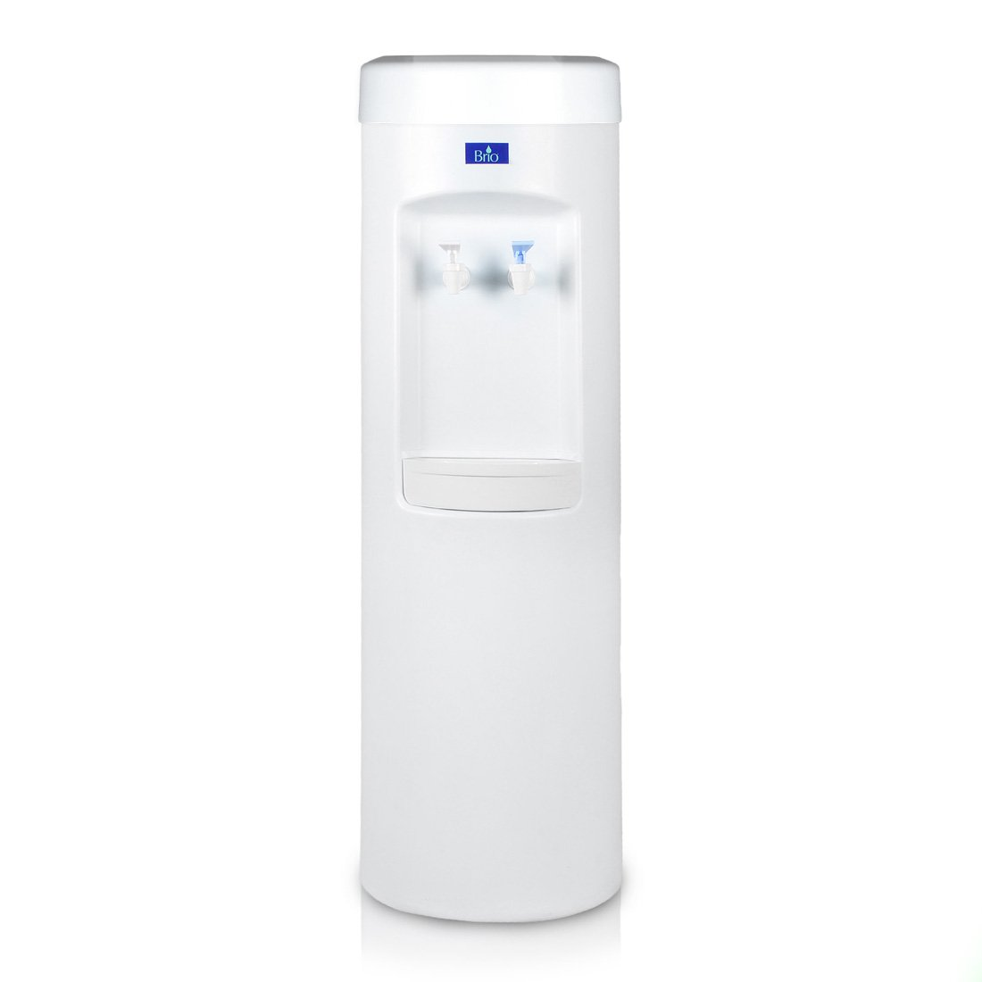 Brio Professional Commercial/Residential 500 Series Bottleless Water Dispenser Room-Temp & Cold (CL-505-POU) (White)