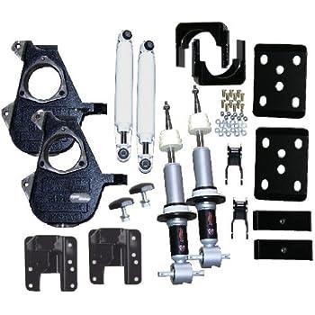 McGaughys 3180 Adjustable Front Lowering Strut for Silverado 1500 /& SUV 1500