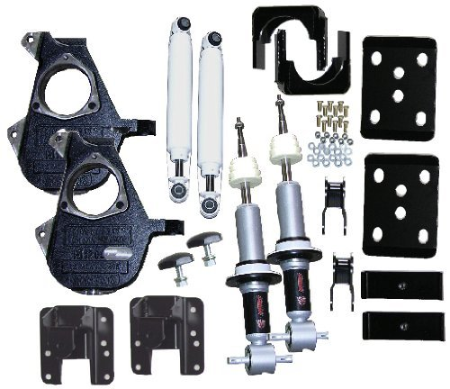 McGaughys 3/5 or 4/6 Adjustable Lowering Kit 07-13 GM 1500 Truck 2WD All Cabs 34070