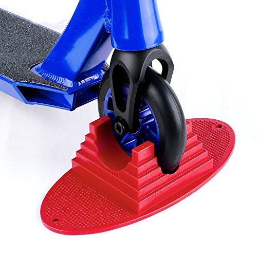 Pro Stunt Scooter Stand for Wheel 100 -125mm Pro Stunt Scooter (red)