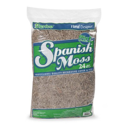 Better Crafts FLORAL PREMIUM SPANISH MOSS GREY 24 OUNCES (12 pack) (0B500060) by Better crafts