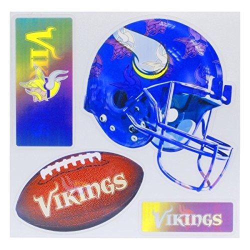 NFL Minnesota Vikings 3D Multi Magnet