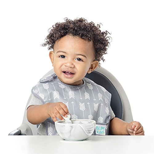 Bumkins Baby Bib, Waterproof SuperBib 3 Pack, N16 (Feather/Quill/Arrow) (6-24 Months) by Bumkins (Image #4)