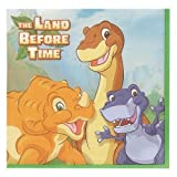 Land Before Time The Dessert or Beverage Napkins 16ct