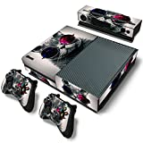 FriendlyTomato Xbox One Console and Controller Skin Set – Cat Glasses Design Red and Blue – Xbox One Vinyl