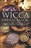 Wicca Herbal Magic: A Beginner's Guide to Practicing Wiccan Herbal Magic, with Simple Herb Spells by Lisa Chamberlain