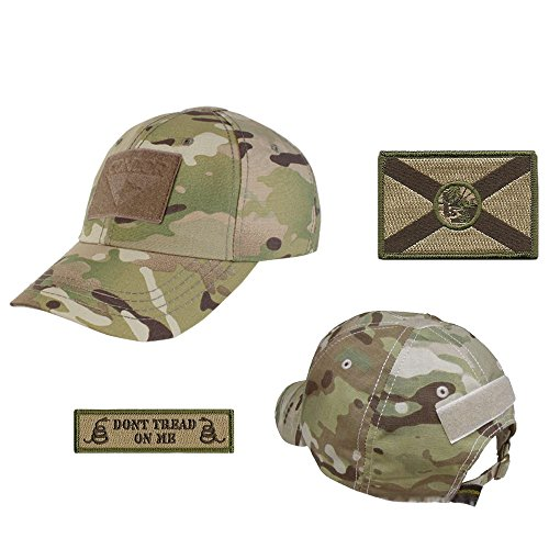 US State Operator Cap Bundle - with State & Dont Tread On Me Patches - ()