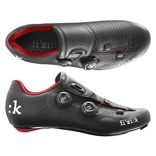 (fizik/フィジーク)(自転車用シューズ/靴用品)R1B UOMO(メンズ)BOA BK/RED 39(R1MBC 1030 390)   B01N979AYP
