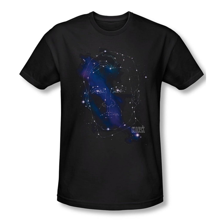 Star Trek - Mens Kirk Constellations Slim Fit T-Shirt