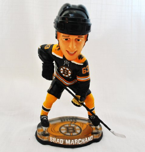 Boston Bruins Rare Official NHL #63 Brad Marchand Center Ice action Bobble Head