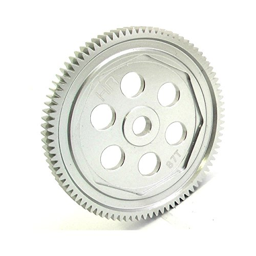 Hot Racing SCT887H Hard Anodized Aluminum 87T 48P Spur Gear