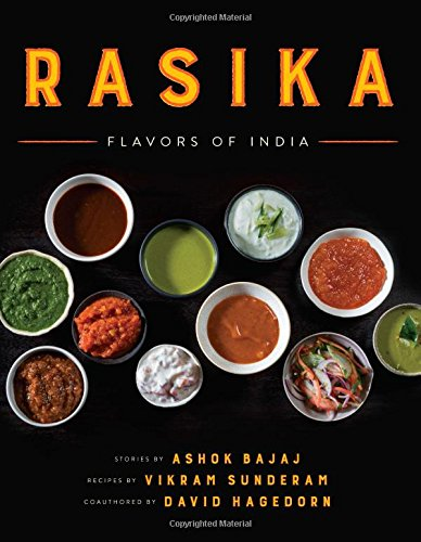 Rasika: Flavors of India cover
