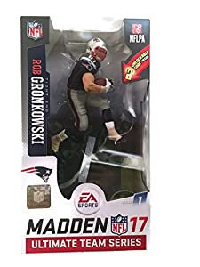 McFarlane Toys NFL Madden 17 Ultimate Team Series 1 Rob Gronkowski Exclusive Action Figure