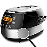 Image of Elechomes CR502 10 Cups (Uncooked) Rice Cooker 16-Modes LED Touch Control Multi-Cooker with Steamer