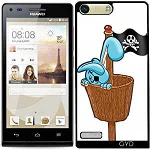 Funda para Huawei AscendP7 Mini - Hr Pirata Conejo by Cadellin