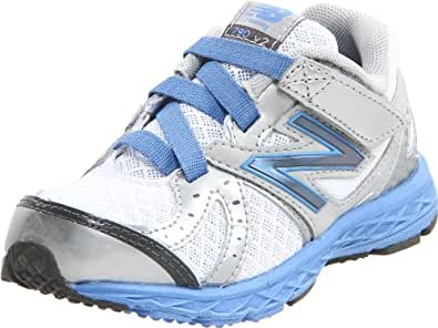 New Balance KV790 Running Shoe (Infant/Toddler),White/Blue,9.5 M US Toddler
