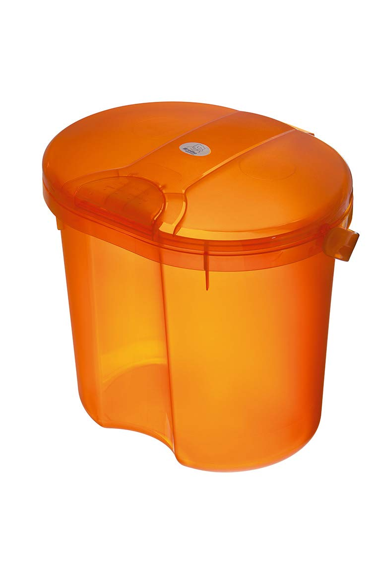 Rotho Baby Design Topline Translucent Nappy Pail Orange