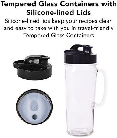 Tribest Glass Personal Blender, Chrome