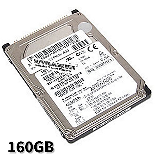 Seifelden 160GB Hard Drive for Dell Inspiron 1000 1100 1150 1200 1300 2200 2650 2650C 300M 4150 500M 5100 510M 5150 5160 600M 630M 6400 700M 710M 8200 8500 8600 ()