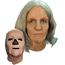 UHC Women's Prosthetic Old Woman Face Theme Party Latex Halloween Costume Mask