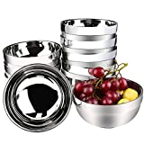 Stainless Steel Bowl, Kereda Stainless Steel Mixing Bowls 10 Pack Double Walled Insulated