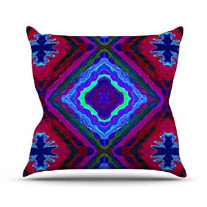 "Kess InHouse Nina May ""Kilim"" Outdoor Throw Pillow, 26 by 26-Inch"