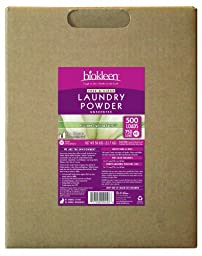 BioKleen 00048 Free and Clear Laundry Powder Box, 50 lbs