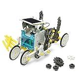 14 In 1 Solar Powered Robot Pattern Building Block Assembling DIY .