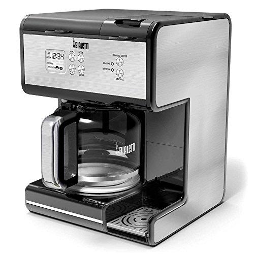 Bialetti Stainless Steel Triple Brew Coffee Maker