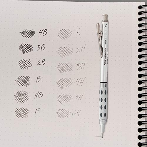 Pentel Super Hi-Polymer Lead Refill, 0.5mm, Fine, 2B, 144 Pieces of Lead (C505-2B) by Pentel (Image #6)