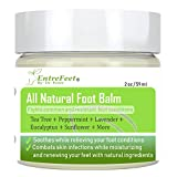 Dr. Entre's Foot Balm: Organic Hydrating Antifungal Relief for Dry Cracked Heels, Callused
