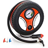IMPREX INFRA Portable Electric Mini DC 12V Air Compressor Pump for Car and Bike Tyre Tire Inflator