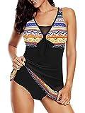 Bathing Suits for Women Swimsuits Tummy Control One Piece Swimdress Plus Size Athletic Swimwear Orange Swim Dress 14-16