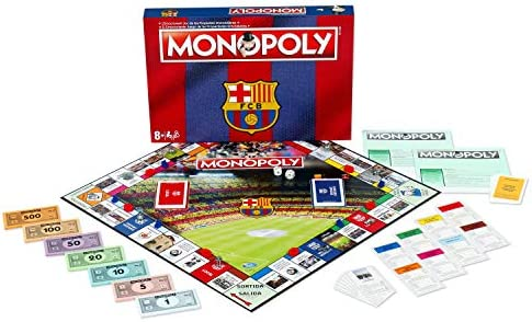 Winning Moves Monopoly FC Barcelona (10537), Multicolor: Amazon.es: Juguetes y juegos