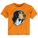 Gen 2 NCAA Tennessee Volunteers Toddler Standing Mascot Tee, 4T, Orange