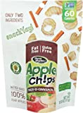 ThreeWorks Apple Chips 2GO, Pinch-O-Cinnamon, 0.53 Ounce (Pack of 20)