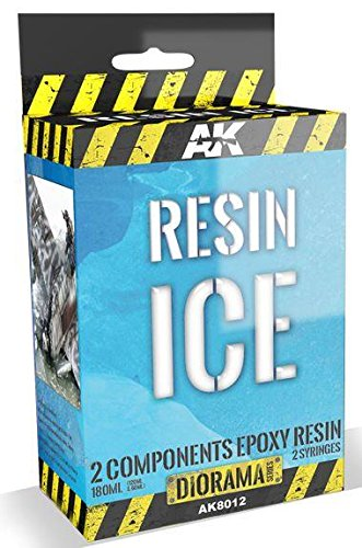 (Diorama Series: Resin Ice Effect 2-Components Epoxy 180ml)