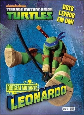 Tartarugas Ninja Origem Mutante Leonardo Donatelo 9789895018833