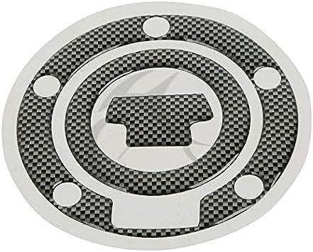 1 Pcs Fuel Gas Cap Cover Pad Sticker For YAMAHA YZF R1 R6 FJR1300 FZ6N XJ6 FZ6R