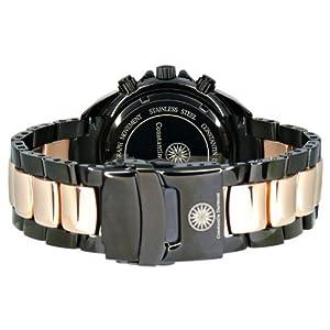 Constantin Durmont Men's Watch Seawolf CD-SEAW-QZ-IPRG-IPRG-BK