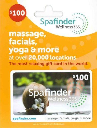 Spafinder Wellness 365 Gift Card $100