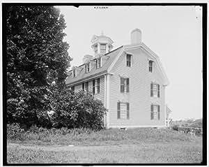 Photo: Sparhawk House,dwellings,Kittery Point,Maine,ME,Detroit Publishing Company,1900