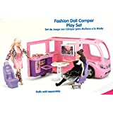 "Kid Connection Doll R/V Camper Motor Home - Fits 12"" Barbie Dolls"