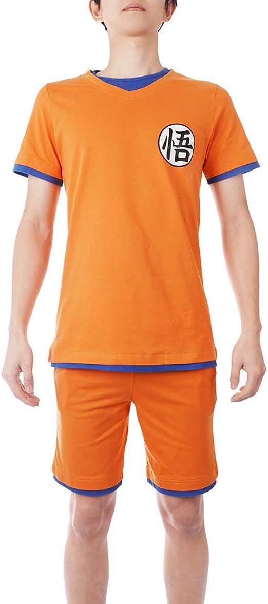 Dragon Ball Goku Pijamas Hombres Mujeres Casual Camiseta ...
