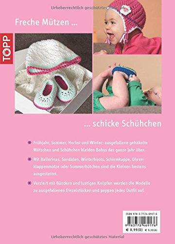 Von Kopf Bis Fuß Schuhe Und Mützen Für Babys Häkeln Kreativkompakt