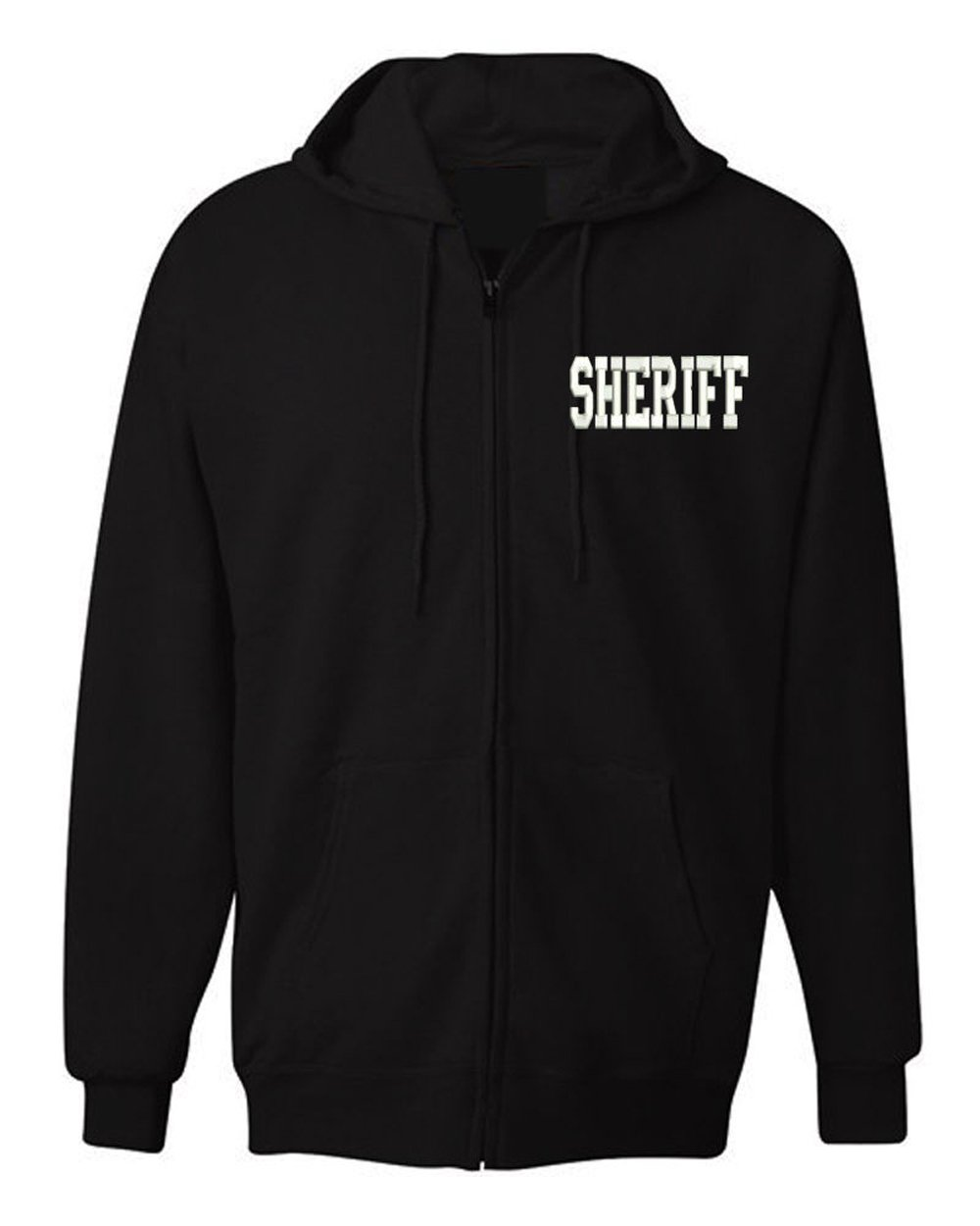 American Law Enforcement Military Sheriff Officerジャケットジッパーhoodie-3 X L B01M0MQGE6