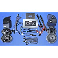 J&M Audio XXRK Extreme 4 Speaker and 700 Watt Amp Kit for 2015 and Newer Harley-Davidson Road Glide models - XXRK-700SP4-15RC