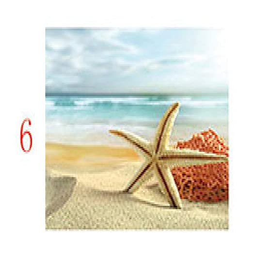 zxddzl Cartel de Concha de Playa e impresión Mural Lienzo ...