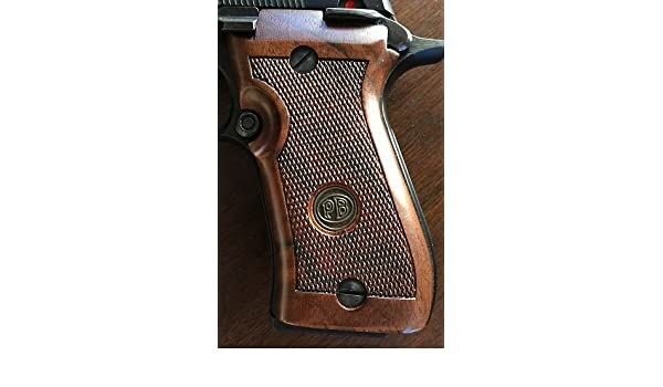 Beretta Factory Walnut Replacement Grips Beretta 85BB, Grips