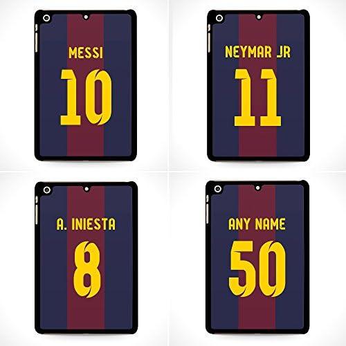 FC Barcelona nombre personalizado y número chewybuy Barca iPad Mini Retina 2, 3 funda - iCaseCreatives: Amazon.es: Electrónica